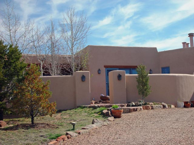 Albuquerque To Santa Fe >> Stucco beauty comes in all shades and textures | Tesuque Stucco