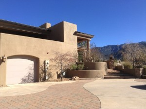 Synthetic Stucco Finish in High Desert