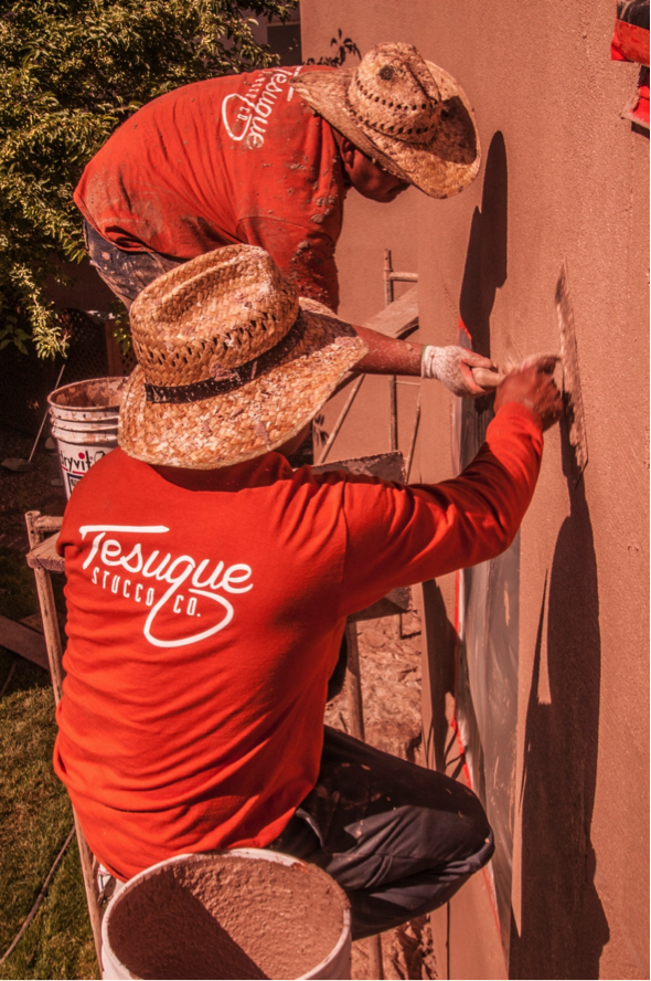 Tesuque Stucco Skilled Laborers
